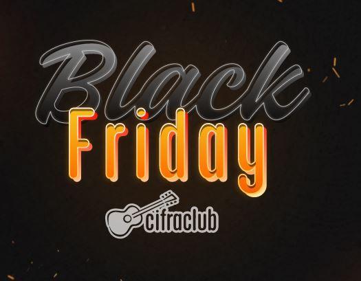 Cifra Club faz parte da campanha Black Friday