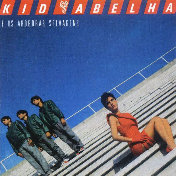 Capa de Seu Espião, disco de estreia da banda Kid Abelha
