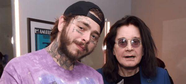 Post Malone gravou clipe com Ozzy Osbourne