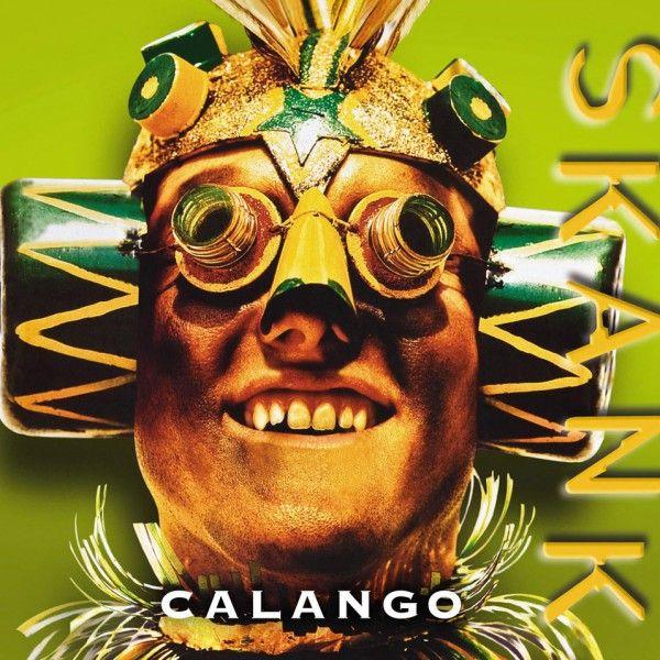 Capa de Calango, segundo disco do Skank