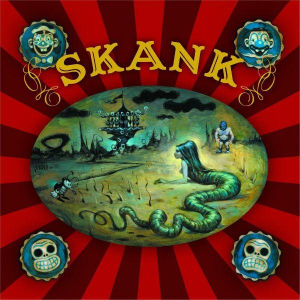 Capa de Corrossel, sétimo disco do Skank