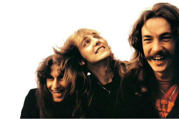 O trio Rush no começo da era Neil Peart