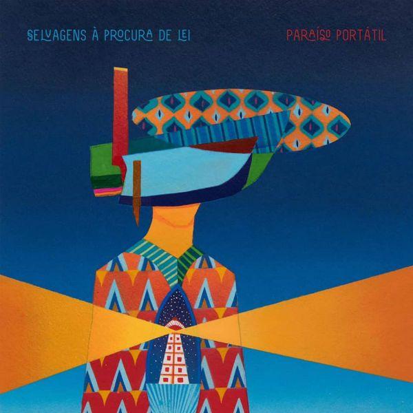 Capa do disco Paraíso Portátil, quarto trabalho da banda Selvagens à Procura de Lei