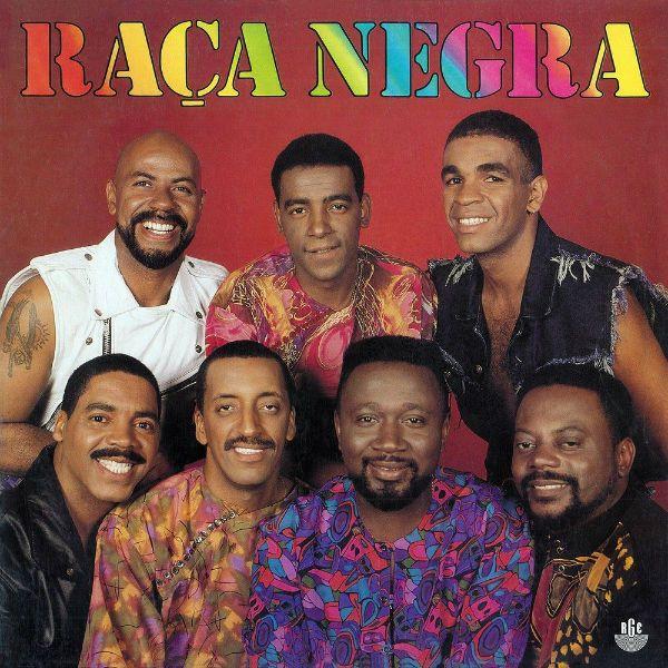 Capa do quinto disco do grupo Raça Negra, ícone do pagode dos anos 90