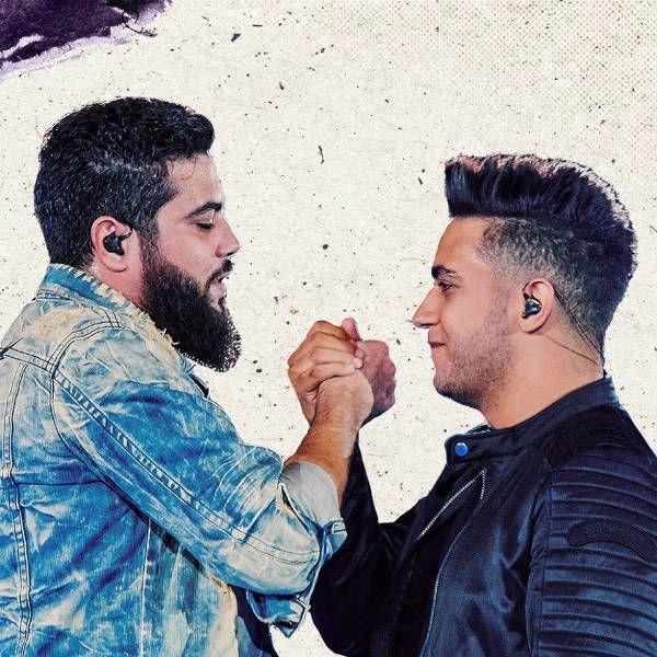 Henrique e Juliano, durante a gravação do DVD Ao Vivo no Ibirapuera