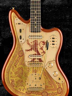 Fender lança guitarras inspiradas em Game of Thrones