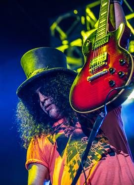 Veja fotos exclusivas do show de Slash em Porto Alegre