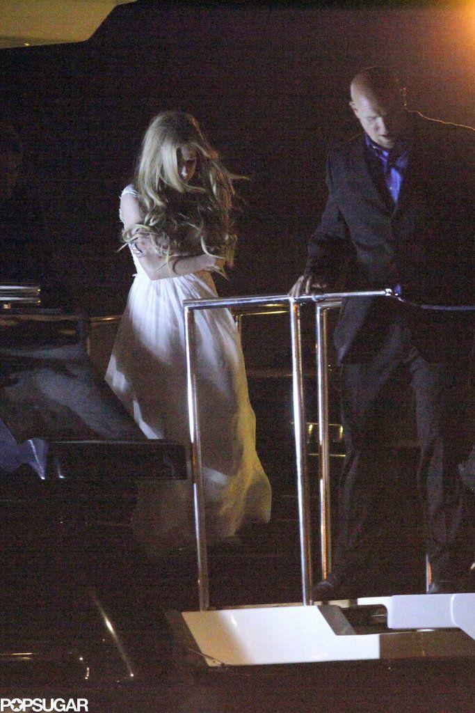 Avril Lavigne e Chad Kroeger casam em castelo na França; veja as fotos