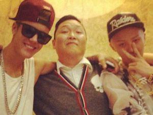 PSY, Justin Bieber e G-dragon podem lançar música em parceria