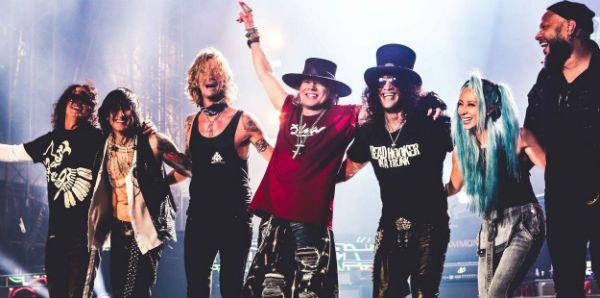 Guns N' Roses está de bem com a vida