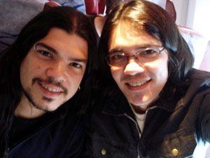 Gustavo e Oziel foram juntos para Londres