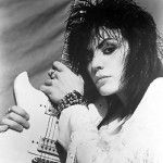 Joan Jett representa o rock feminino na lista
