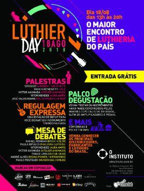 2ª edição do maior encontro de luthieria do Brasil vem aí; participe!