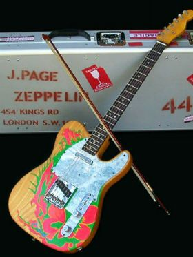 "Fender anuncia a guitarra ""Jimmy Page Signature Telecaster"""