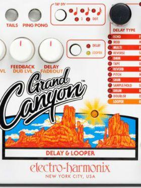 """Conheça o """"Grand Canyon"""", pedal que reúne delay e looper"""