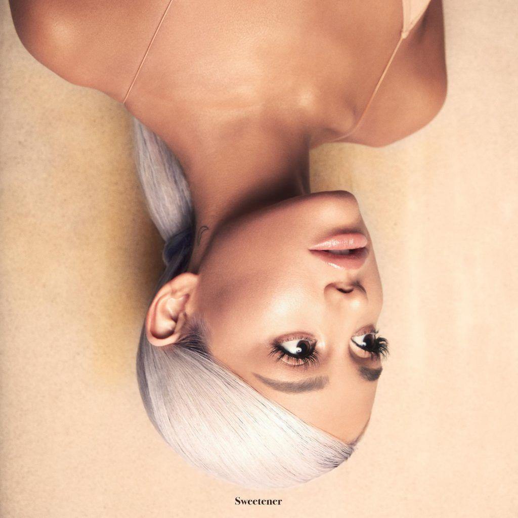 Capa do álbum Sweetener, de Ariana Grande