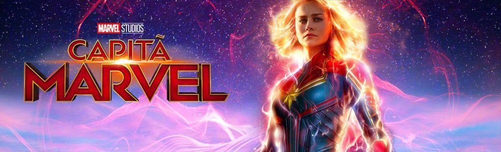 Playlist com a trilha sonora do filme Capitã Marvel