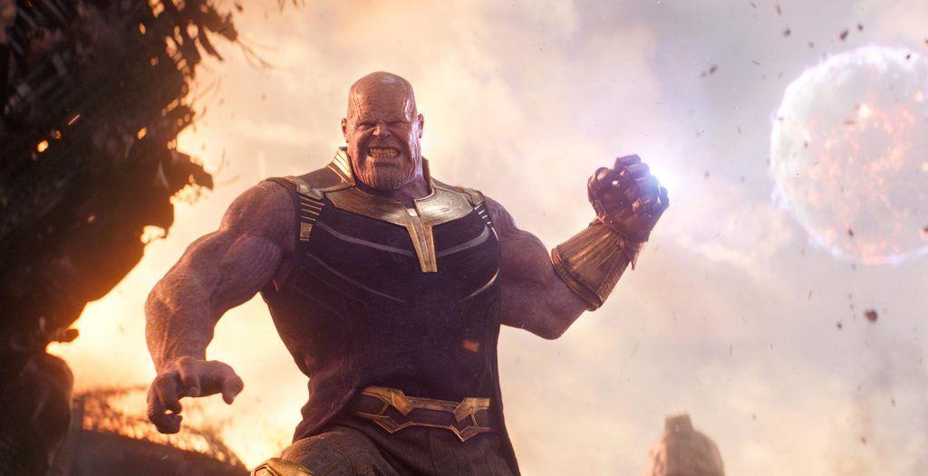 Thanos em Vingadores - Guerra Infinita