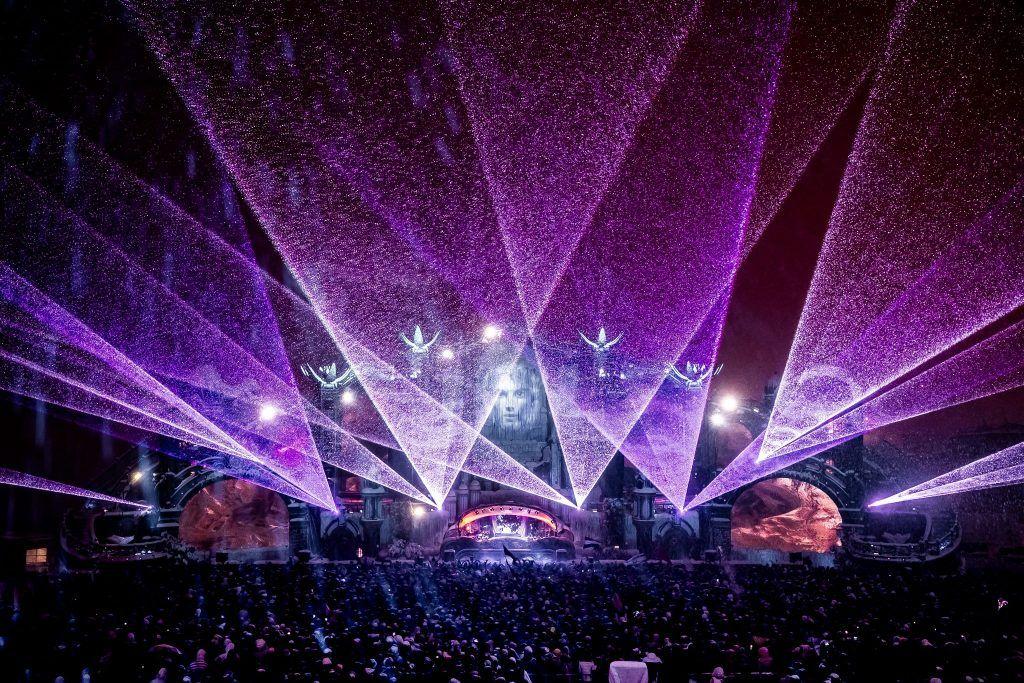 Palco do festival Tomorrowland.