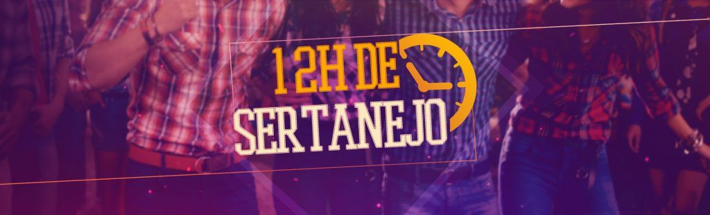 Playlist 12h de sertanejo!