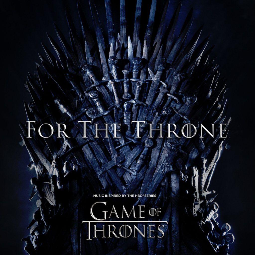 """Capa do álbum """"For The Throne"""", de Game Of Thrones"""