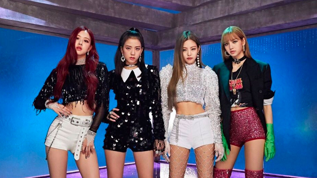 Grupo de k-pop Blackpink.