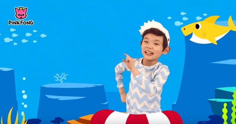 Baby Shark Coreografia