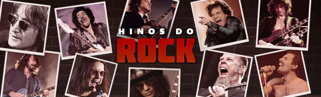 Playlist hinos do rock.