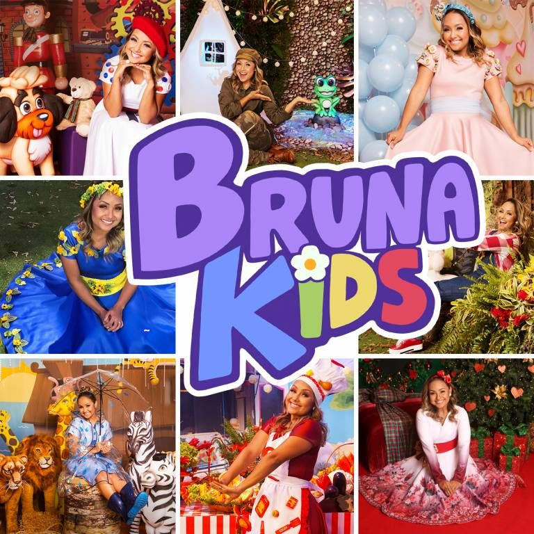 Capa do álbum Bruna Kids, de Bruna Karla