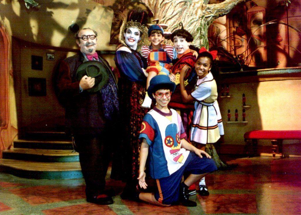 Personagens da série Castelo Rá-Tim-Bum