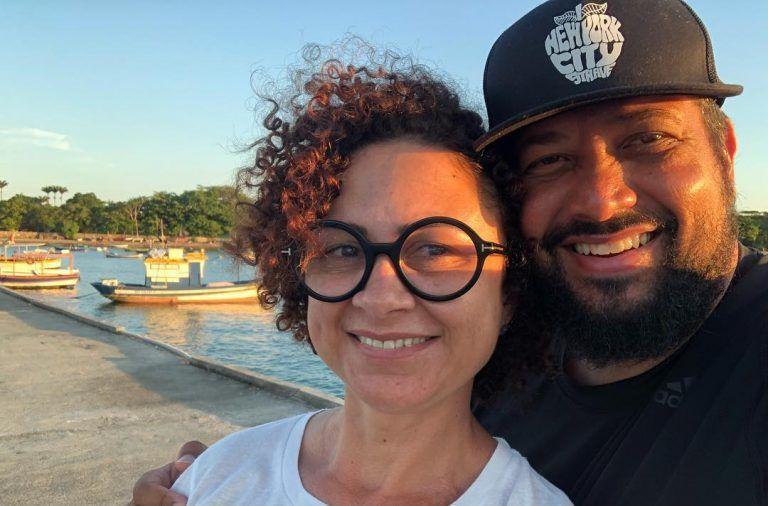 Cantor gospel Fernandinho e esposa, Paula Santos