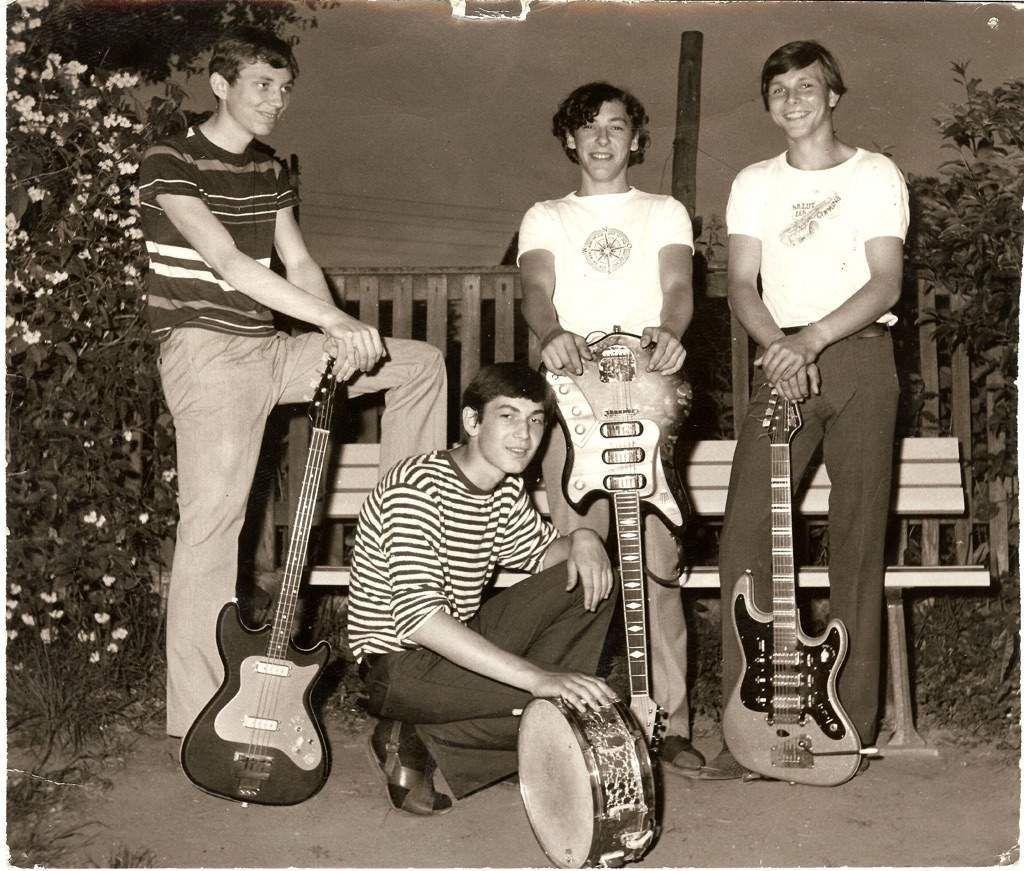 The Scorpions em 1966
