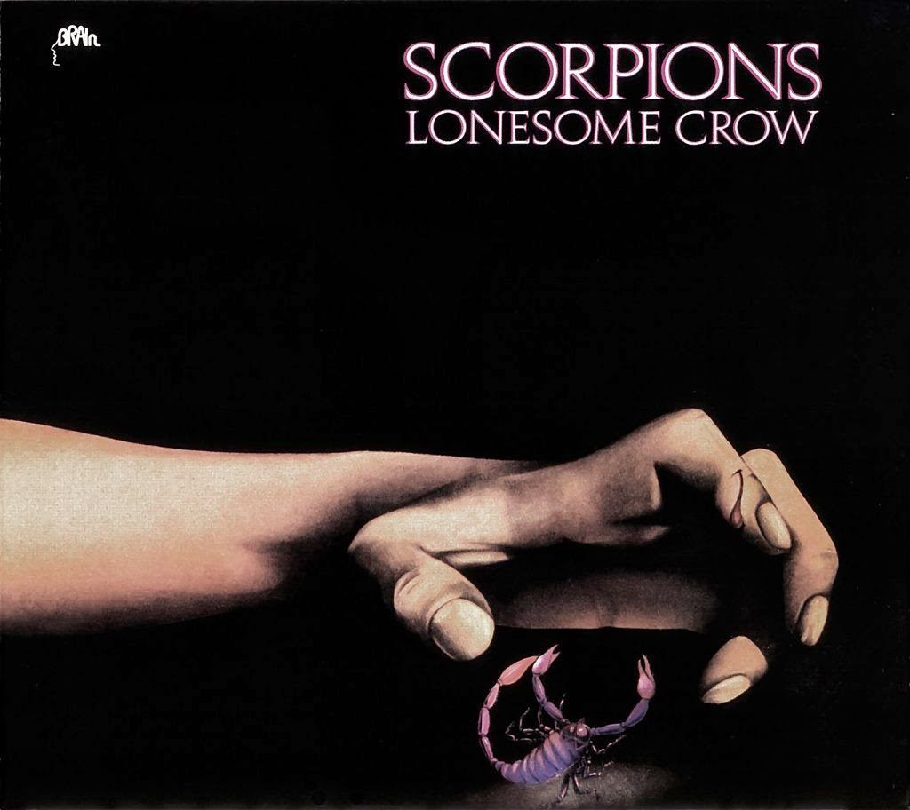 Capa do álbum Lonesome Crow, da banda Scorpions