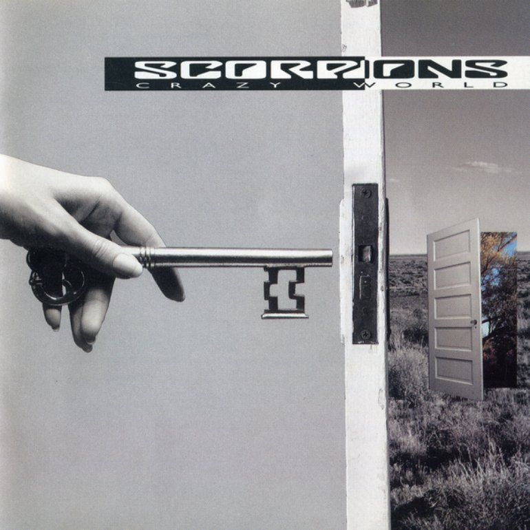 Capa do álbum Crazy World, da banda Scorpions