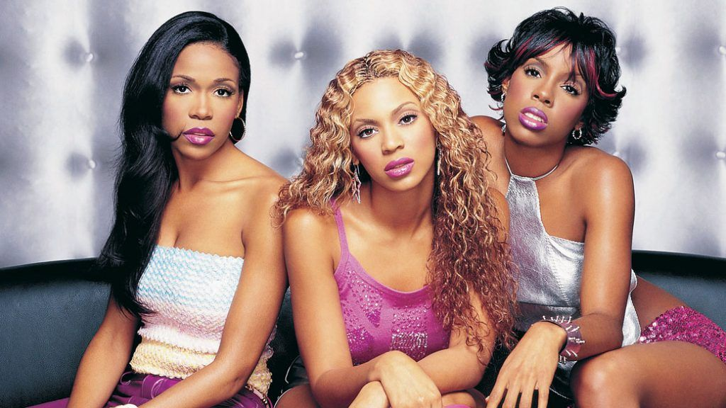 Kelly Rowland, Beyoncé e Michelle Williams, integrantes da banda Destiny's Child