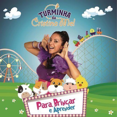 Capa do álbum Para Brincar e Aprender, de Cristina Mel