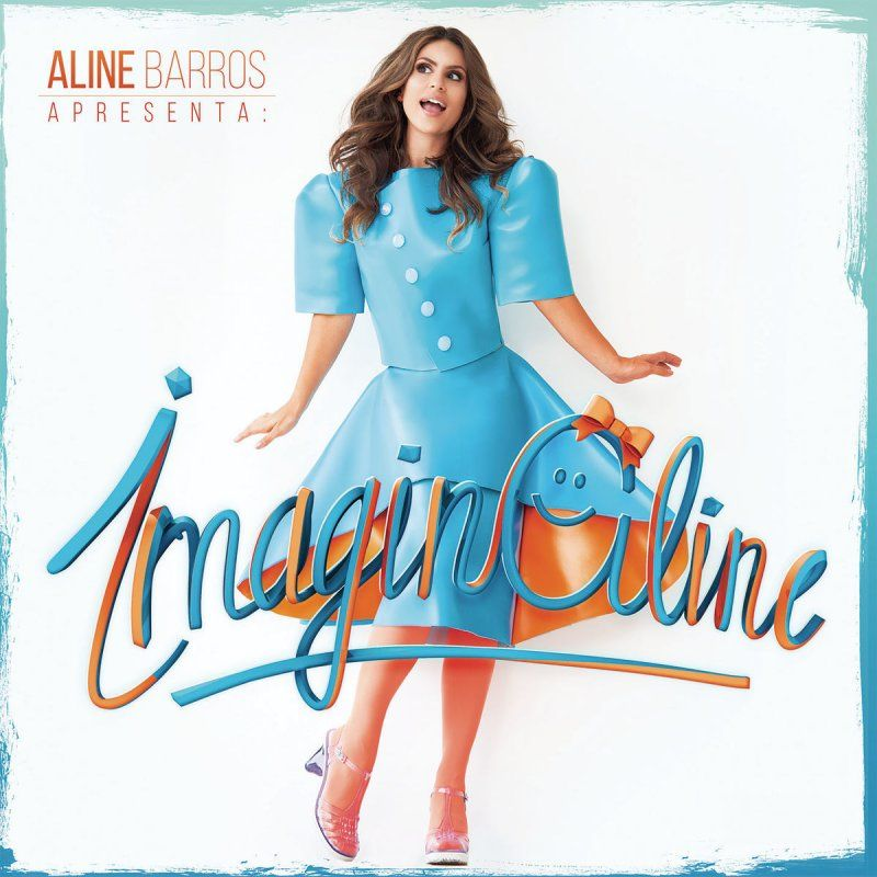Capa do álbum ImaginAline, de Aline Barros