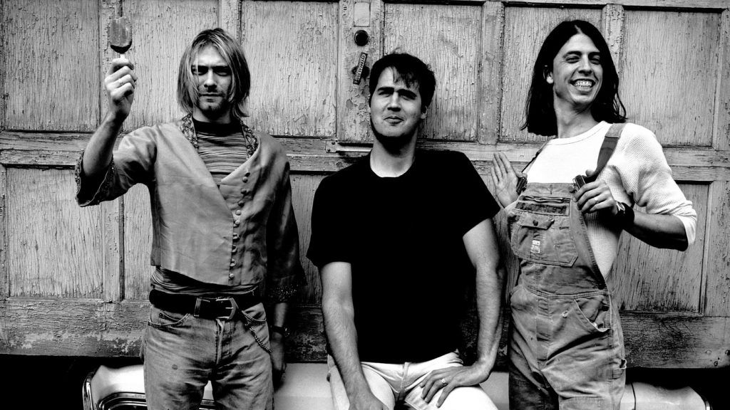 Nirvana, representante dos anos 90 no Dia do Rock