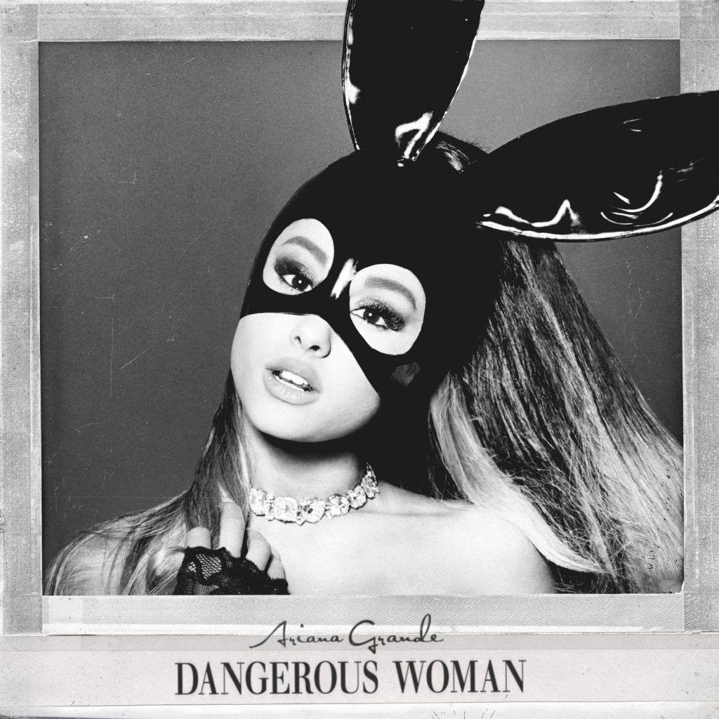 Capa do álbum Dangerous Woman de Ariana Grande
