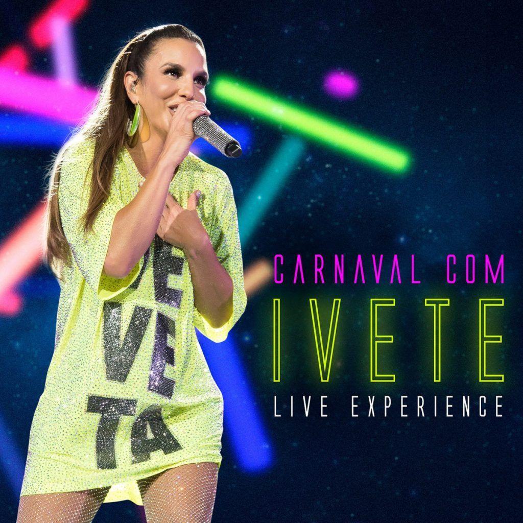 Capa do álbum Carnaval com Ivete Live Experience, de Ivete Sangalo