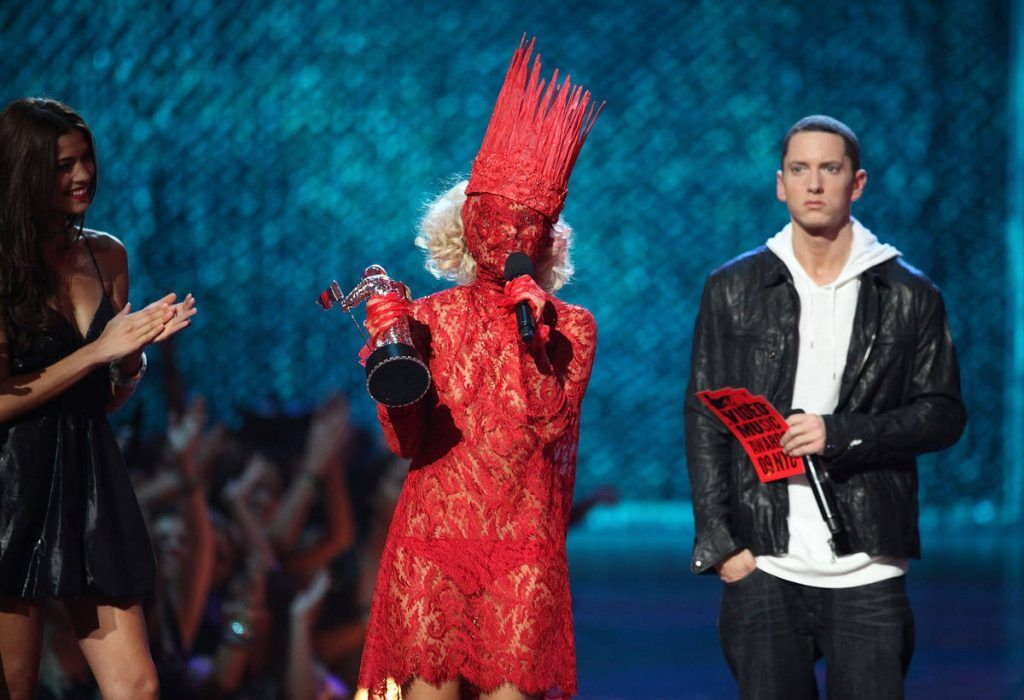 Lady Gaga no VMAs de 2009