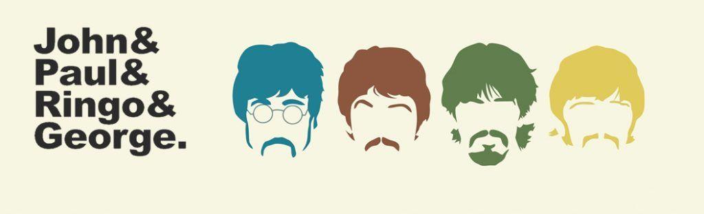 "Capa da playlist ""Universo Beatles"""