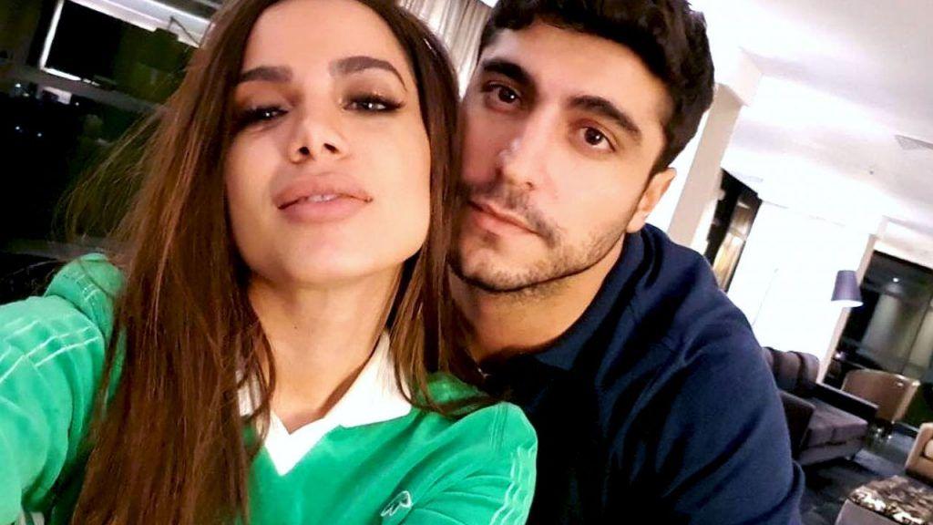 Anitta e o empresário Thiago Magalhães