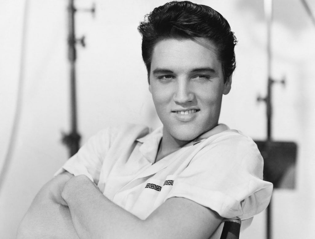 Elvis Presley, representante dos anos 50 no Dia do Rock