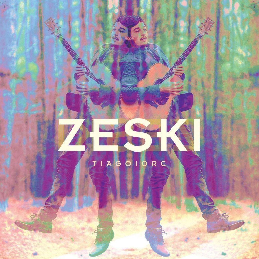 Capa do album Zeski, de Tiago Iorc