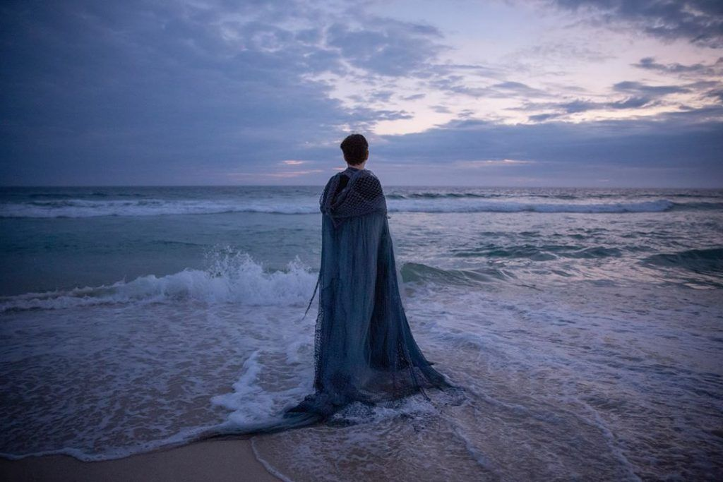 Adriana Calcanhotto em imagem de divulgação do álbum Margem