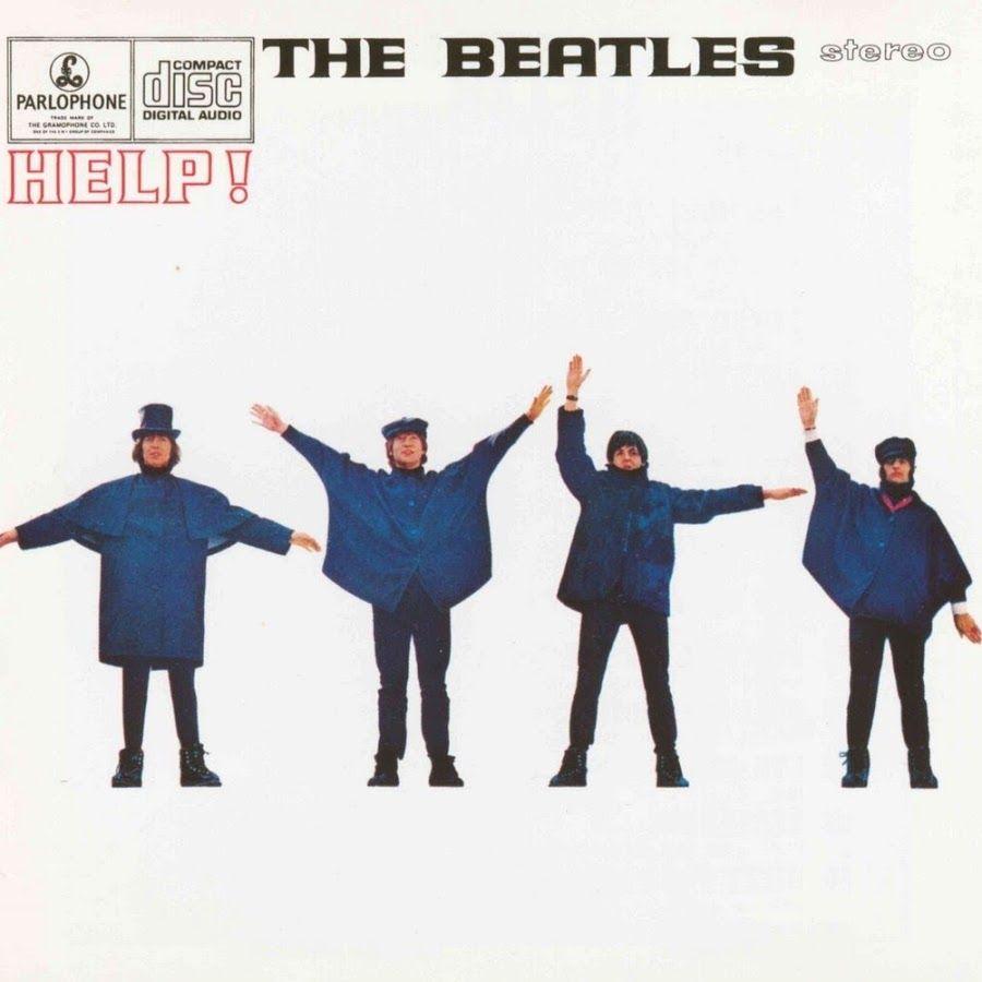 Capa do álbum Help! da banda The Beatles