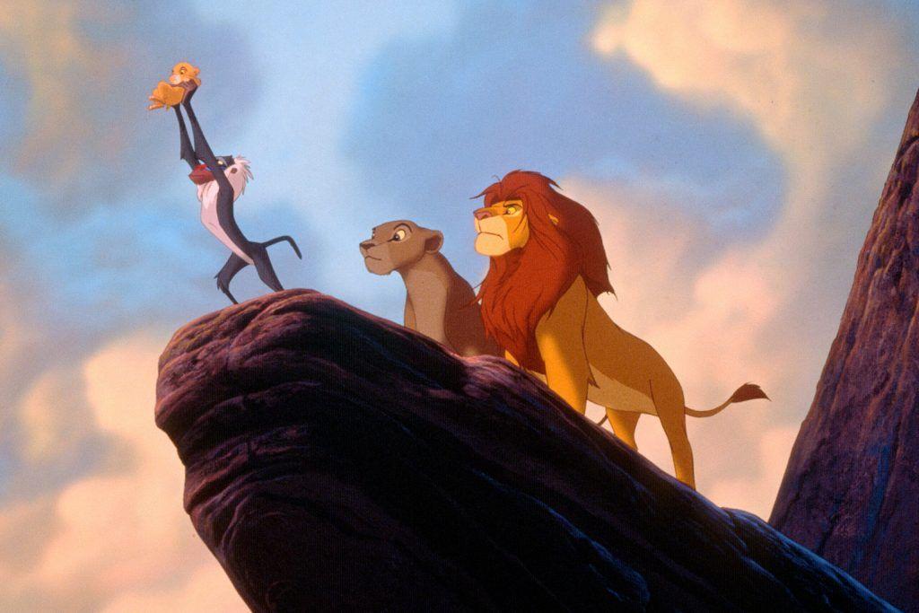 """Cena do filme """"O Rei Leão"""""""