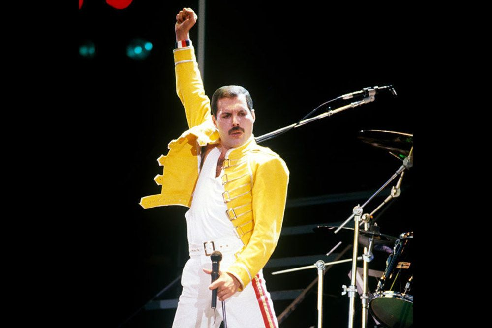 Freddie Mercury, vocalista do Queen