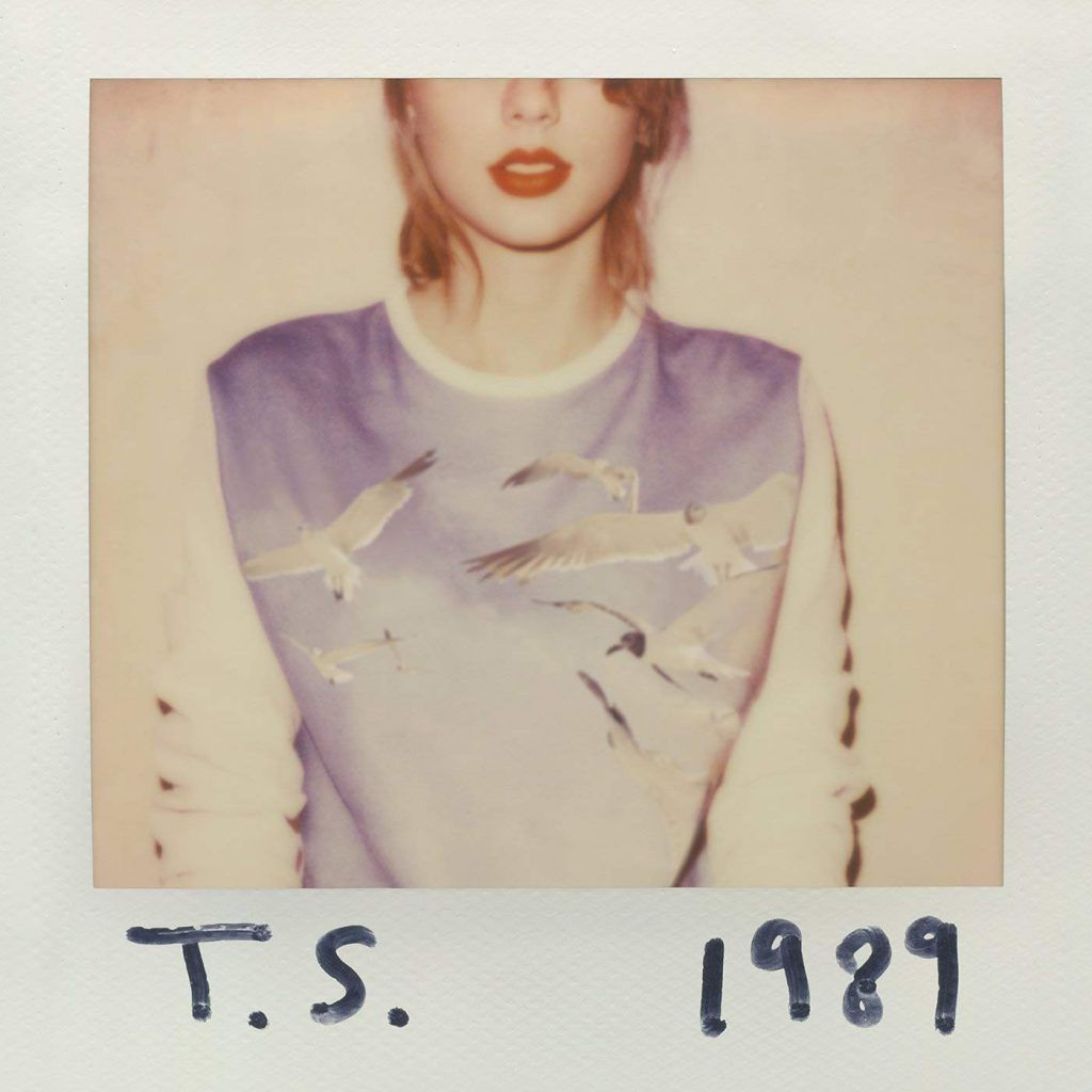 Capa do álbum 1989, de Taylor Swift